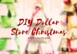 30 Cheap DIY Dollar Store Christmas Decor Ideas